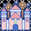 Castle Fairy Castle Royal Fort Icon