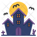 Halloween Castle Night Icon