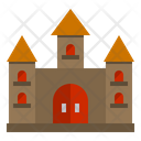 Castle Horror Scary Icon