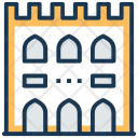 Castle Historical Building Icon