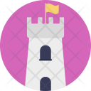 Castle Tower Building Icon