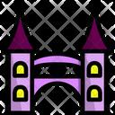 Castle Entrance Vacation Icon