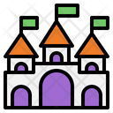 Castle Fortress Palace Icon