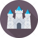 Castle Building Fortress Icon