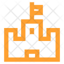 Castle Medieval Fort Icon