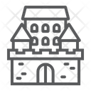 Castle Fort Haunted Icon