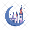 Castle Fortress Constructions Icon
