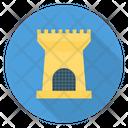 Castle Building Halloween Icon