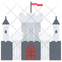 Castle Stronghold Building Icon