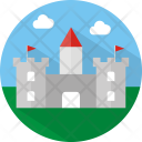 Castle Building Architecture Icon