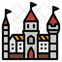 Castle Building Icon