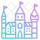 Castle Building Icon