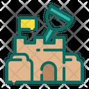 Castle sand Icon