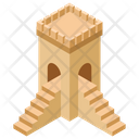 Castle Stairway Icon