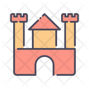 Castle Toy Baby Toy Building Icon