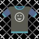 Casual Dark Smile Icon
