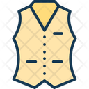 Casual vests Icon
