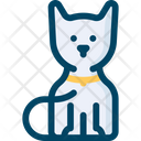 Cat Scary Animal Horror Icon