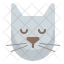 Cat Sleep Icon