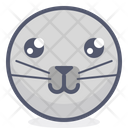 Cat Face Emotion Icon