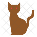 Cat Scary Halloween Icon