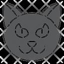Halloween Cat Animal Icon