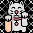 Cat Maneki Neko Icon
