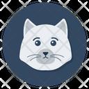 Cat Cat Head Creature Icon