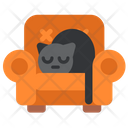 Quarantine Stayhome Stayhome Cat Icon