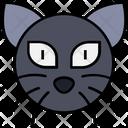 Halloween Horror Cat Icon