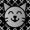 Cat Face Kiten Icon
