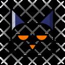 Cat Halloween Scary Icon