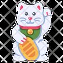Cat Culture Happy Icon