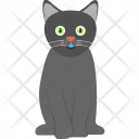 Evil Cat Scary Icon