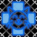 Cat Veterinary Medic Icon