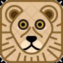 Cat Lion Zoo Icon