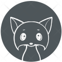 Cat Kitty Cartoon Icon