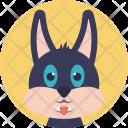 Cat Face Head Icon