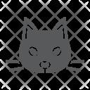 Cat Pet Face Icon