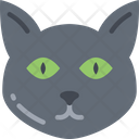 Cat Feline Black Cat Icon