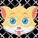 Cat Cute Animal Icon