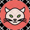 Cat Wild Cartoon Icon