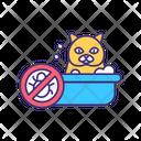 Cat Bath Icon