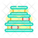 Bed Cat Color Icon