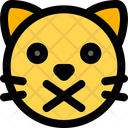 Cat Closed Mouth Icon