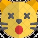 Cat Dizzy Animal Wildlife Icon