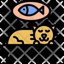 Fish Dream Sleep Icon