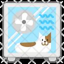 Cat Dryer Icon
