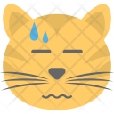 Cat Emoji Face Icon