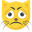 Cat Emoji Face Icon